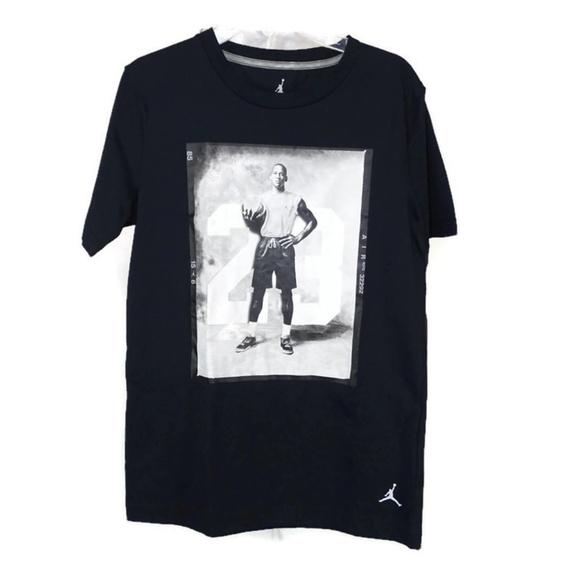 fbaea2d6add539 Nike Jordan Jumpman T-Shirt Shirt Boys Size L